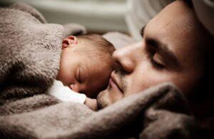 dojenček ne spi